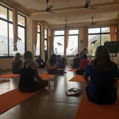 Yoga shala (room), India